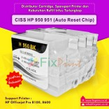 Cartridge CISS HP 950 951 Auto Reset Chip HP Officejet Pro 8100 8600