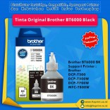 Tinta Brother Original BT6000 BT 6000 Black, Tinta Refill Printer Brother DCP-T300 DCP-T500W DCP-T700W MFC-T800W