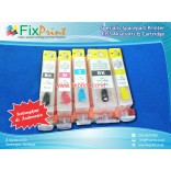 Cartridge Refillable Canon CLI821 PGI820 CANON IP3680 IP4600 IP4760 IP4680 MP638 MP545