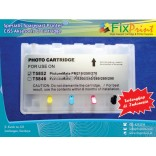 Cartridge Refillable MCISS Epson PM70, PM210, PM215, PM235, PM250, PM270, PM310, PM200, PM240, PM245, PM260, PM280, PM290 CARTRIDGE T5852 T5846