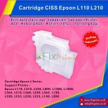 Cartridge CISS Epson L110 L210 L350 L800 L1300 L1800 L365 L310 L360 L220 L565 L120 L220 L355 L550 L555 L100 L200 Original, Cartridge Epson L Series