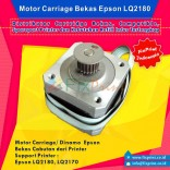 Dinamo Carriage Epson LQ2180 LQ-2180 LQ2170 LQ-2170 Original Cabutan, Carriage Motor CR